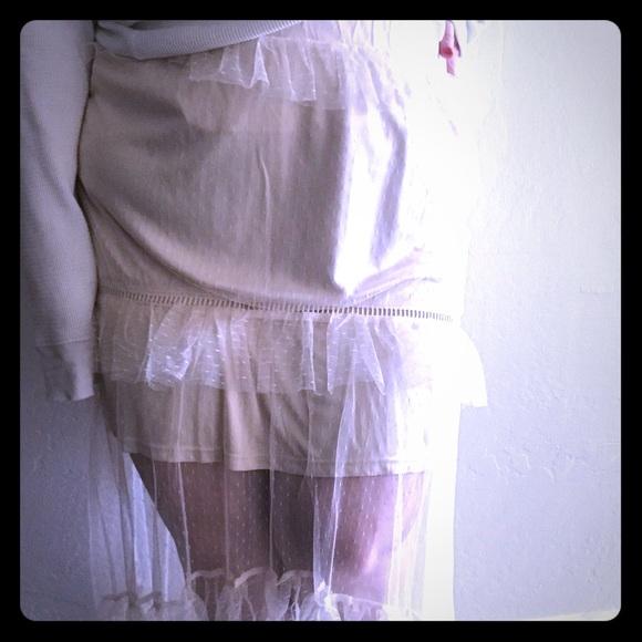 Glamorous Dresses & Skirts - NWOT ✨ Size 18 Skirt ⭐️ Sheer, Ruffle Skirt